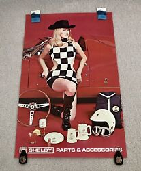 Vintage Original Cs Shelby Shelby Girl Parts And Accessories Wall Poster Only