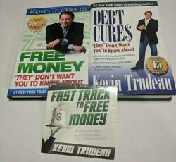 Lot 2 Kevin Trudeau Finance Books Free Money And Debt Cures 1 Nyt + Cd