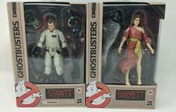 2 Ghostbusters Plasma Series 6 Action Figures Lot Stantz And Barrett