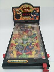 Wbss Justice League America Warner Bros Store Tabletop Pinball Game   Used