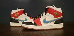 Nike Air Jordan 1 Mid Letherman Women's Size 8 - New In Hand Ready To Ship