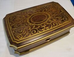 Reuge Box With 3.72 Note Orpheus Mt Playing - Water Music Fireworks Music