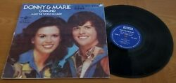 Donny And Marie Osmond Chinese Import Make The World Go Away 12 Vinyl Record