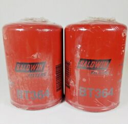 Baldwin Bt364 Spin On Filter Lot Of 2 - Free Shipping