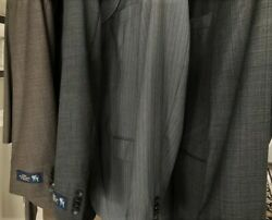 Four For The Price Of One 4 Men's Hart Schaffner Marx Suits 42r Unaltered, Nwt