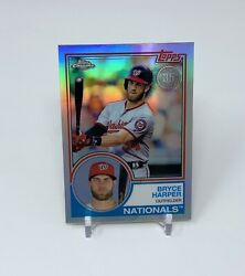 2018 Topps Chrome Bryce Harper 35th Anniversary Nationals 📈