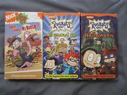 Rugrats All Grown Up Lot 3 Nickelodeon Dude Where#x27;s My Horse Halloween Growed
