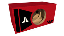 Stage 3 - Limited Edition Ported Subwoofer Box Jl Audio 12w7ae - Red