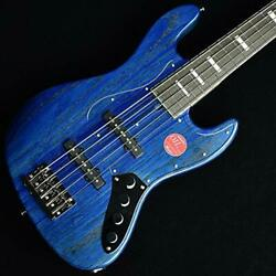 New Bacchus Wl5dx-ash / Ac Blu-oil 5-string Electric Bass Active