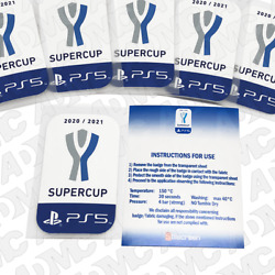 Supercup 2020-21 Ps5 Toppa, Sleeve Patches, Official Stilscreen Patch