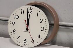 Stromberg Vintage Metal Clock Made In Usa For Parts 1