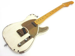 Paoletti Guitars Nancy Loft 2017 Relic White Electric Guitar Used Free Shipping