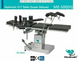 Me -500 H Surgical Operation Theater Ot Table Operating Table Detachable Head Andj