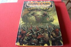 Games Workshop Citadel Realms Of Chaos The Lost And The Damned First Print Book