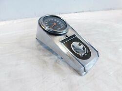 Harley Davidson Dyna Wide Glide Gas Fuel Tank Console And Speedometer W/ Odometer