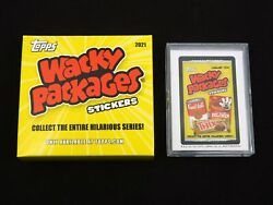 Base Set 2021 Topps Wacky Packages Monthly January - 21 Stickers