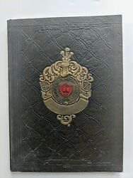 1937 Castle Heights Military Academy Yearbook Vintage Good Condition Lebanon, Tn