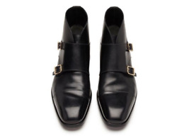 Tom Ford Sutherland Monk Strap Boots Shoes - Brand New - Rrp2,500 Aud