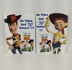 Toy Story 2 Movie Vintage Pinbacks Collectible Promotional Advertising Buttons