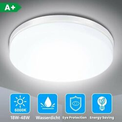 50W 12W Bright LED Ceiling Down Light Panel Wall Bathroom Kitchen Lamp Round