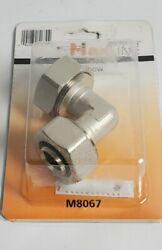 Rapid Air M8067 Maxline Air Hose Elbow Connector, 3/4 Inch Fitting New