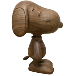 New Snoopy Karimoku Wooden Figure(limited To 100)ship From Japan