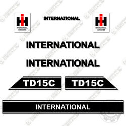 International Harvester Td15c Decal Kit Tractor - 7 Year 3m Vinyl