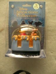 Disney Attractions Winnie The Pooh Diecast Metal Vehicle Theme Park Exclusive
