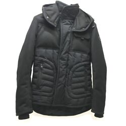 Moncler 0911b5730053132999 Quilted Monch Hooded Outerwear Down Jacket Black