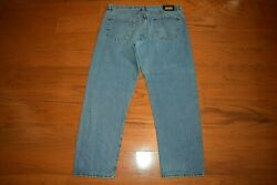 Hugo Boss - Made Italy 'alabama' Relaxed Tapered Blue Jeans - Men Size 40 X 33