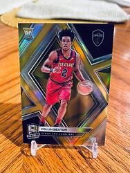 2018-19 Spectra Collin Sexton Rc Lot Gold /10 And Fotl Wave /9. See Description.