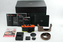 Leica X2 Paul Smith Edition Limited To 1500 Units Worldwide 【near Mint In Box】