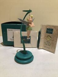 Wdcc Disney Peter Pan Tinker Bell Ornament And Stand 1996 Special Edition Mib Andndashnew