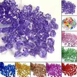 150x Bag Acrylic Crystal Gem Stone Ice Rocks Table Scatter Confetti Vase Fillers
