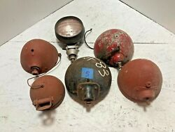 Vintage Headlights Rat Rod 1930and039s 40and039s 50and039s Lot