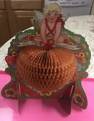 Vintage Large Foldout Valentine By Beistle Made In Usa