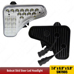 Left And Right Headlight For Bobcat Skid Steer T595t630t650t740t750t770t870+