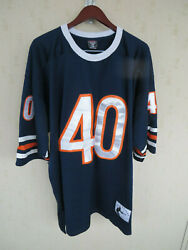 Chicago Bears Gale Sayers Nfl Throwback Football Jersey Sewn 4xl