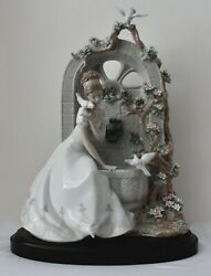 Lladro Privilege Collection Spring Of Love-b.jandaacuteuregui1876 Signed 426/2000 Mint