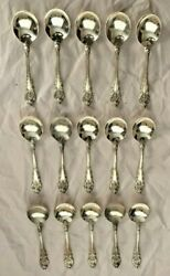 Wallace Sterling Soup Boullion Spoon Pattern Sir Christopher 15 Available