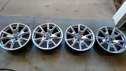 Used 2015 Ford Mustang Gt Factory 19 19x8.5 Silver Wheels Rims Oem Free Shippin