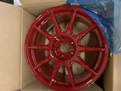 Work Wheels M.c.o Racing Type Cs With M-face Color Red 18x8.5 + 38    5x100