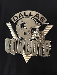 Dallas Cowboys Vintage T Shirt 50/50 Made In The Usa 1990's Throwback Rare Xl