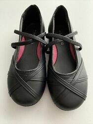 Eddie Marc Shoes kids Black Flats Size 1 In Perfect Condition Never Worn