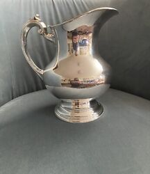 Vintage 8 1/2 Inch Reed And Barton X 766 Sterling Silver Water Pitcher 8 H. P.