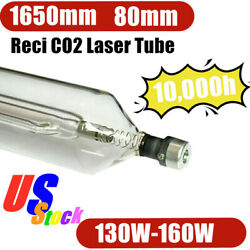 Us Stock Reci W6 / S6 130w-160w Co2 Sealed Laser Tube For Engraving And Cutting