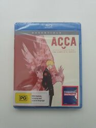 Acca 13-territory Inspection Dept. The Complete Series Blu-ray Region B New