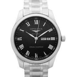 Longines The Longines Master Collection L29204516 Black Dial Men's Watch