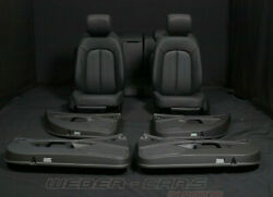 Audi A7 4g Leather Seats Black Leather Trim Electric Lordose Only 15km