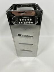 Vintage Stainless Steel Dripcut By Traex Cheese Grater